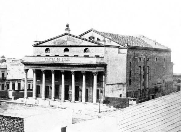 El teatro de toda la vida. 160 años del Solís