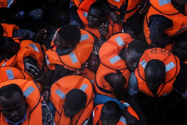 El Mar Mediterráneo es una de las rutas migratorias más peligrosas del mundo: en 2016 murieron ahogadas más de 5.000 personas. || Anna Surinyach