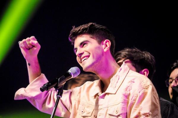 Rombai, mejor album de cumbia pop y dueños del voto popular || Adhoc ©Javier Calvelo