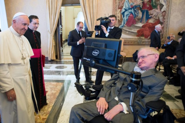 Con el papa Francisco en 2016 (FILIPPO MONTEFORTE / AFP)