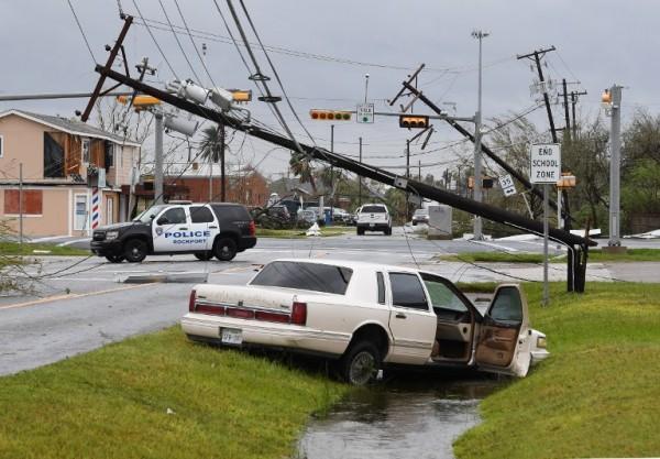 Destrucción en Texas tras el paso del Huracán Harvey || AFP