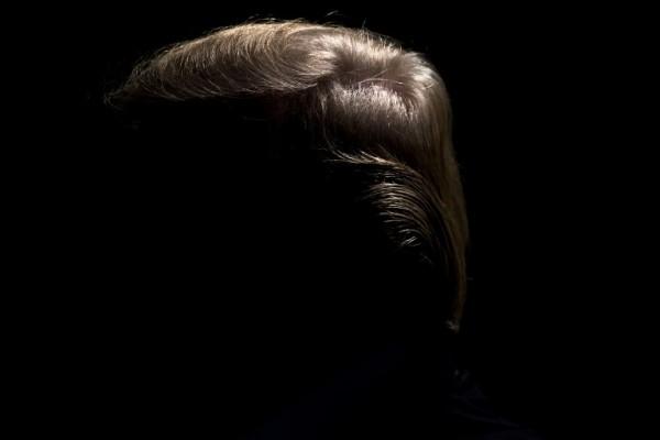 Donald Trump durante una conferencia de prensa || AFP