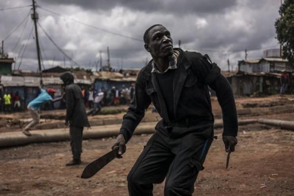 Protestas durante las elecciones de Kenia || AFP