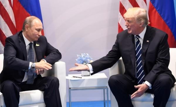 Reunión entre Vladimir Putin y Donald Trump en Alemania || AFP