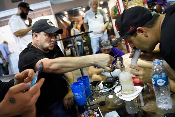 4ta edicion de Expocannabis en el LATU. || Nicolás Celaya /adhocFOTOS