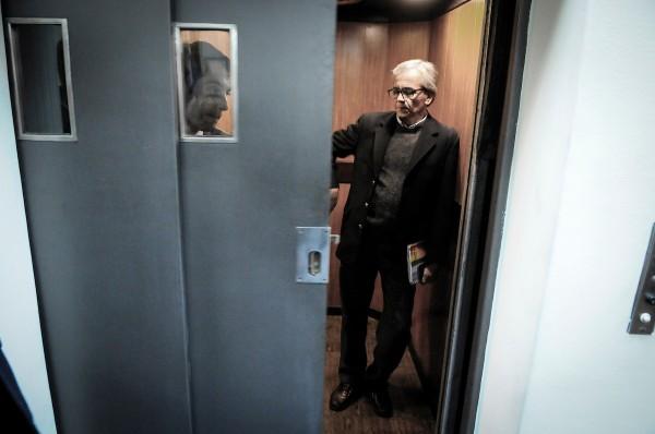 Juan Castillo su ultimo día en el MTSS. || Javier Calvelo/ adhocFOTOS