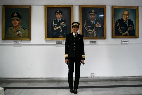 INDIA - Anny Divya, piloto    AFP
