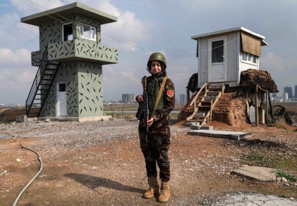 IRAK - Arazo Qadri, soldado    AFP