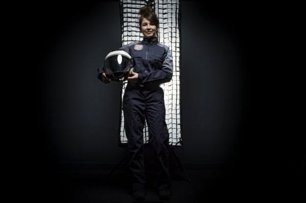 FRANCIA - Victoria Da-Poian, estudiante del Instituto Superior de Aeronáutica    AFP