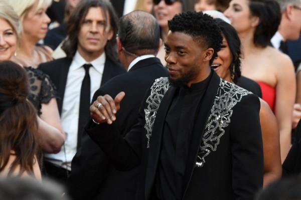 Chadwick Boseman (AFP)