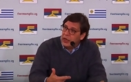 """Portal 180 - Dictamen por Sendic en """"sobre cerrado y caja fuerte"""" hasta el Plenario"""
