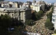 Portal 180 - Manifestación masiva por la independencia de Cataluña