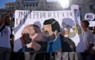 Portal 180 - Manifestaciones multitudinarias a favor de España o del diálogo en Cataluña