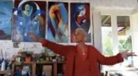 Portal 180 - Muralista francesa devuelve el color a 25 de Agosto