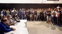 Portal 180 - Saravia se levanta, se va de la asamblea y deja plantados a más de 500 jugadores