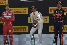 Portal 180 - Hamilton ganó el gran premio de España