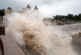 Portal 180 - Advertencia por vientos muy fuertes se extendió a todo el país
