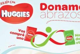 """Portal 180 - """"Donamos Abrazos"""": Kimberly-Clark y Ta-Ta junto a los niños de la Fundación Álvarez-Caldeyro Barcia"""