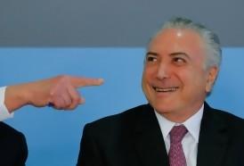 Portal 180 - Popularidad de Temer se desploma al 5% en Brasil