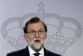 "Portal 180 - Rajoy pide a independentistas catalanes asumir que ""no va a haber"" referéndum"