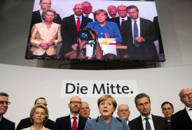 Portal 180 - Victoria de Merkel en elecciones alemanas, ensombrecida por auge de ultraderecha