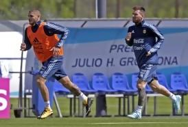 Portal 180 - Messi y Mascherano concentraron a pesar de que Sampaoli dio licencia