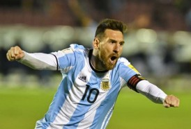 Portal 180 - Messi en su máximo nivel salvó a Argentina del desastre