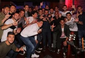 Portal 180 - Los jugadores festejaron con Marama y Lucas Sugo