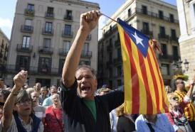 Portal 180 - Miles protestan en Cataluña contra encarcelamiento de líderes independentistas