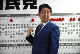 Portal 180 - Amplia victoria del primer ministro Abe en Japón