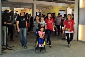 Portal 180 - Voluntarios crean soluciones para discapacitados sin oportunidades