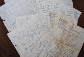 Portal 180 - Subastan desconocidas cartas de puño y letra de Carlos Gardel
