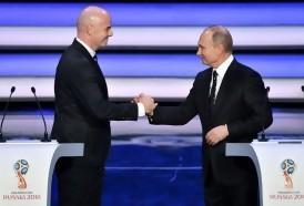 """Portal 180 - Putin promete que el Mundial será """"una grandiosa fiesta"""""""