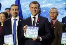 "Portal 180 - Macron pone en marcha su plan ""Make our planet great again"", en respuesta a Trump"
