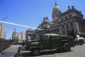 Portal 180 - Disturbios en Argentina por reforma jubilatoria de Macri