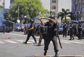 Portal 180 - Incidentes en Buenos Aires previo a voto de reforma jubilatoria