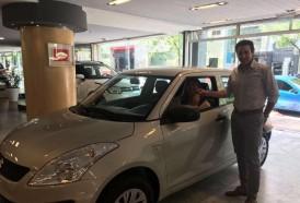 Portal 180 - Durante la Noche de los Descuentos Punta Carretas Shopping sorteó un Suzuki Swift Go