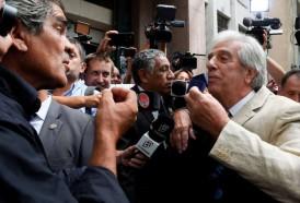 Portal 180 - CAinfo criticó escrache al colono que discutió con Vázquez