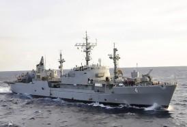 Portal 180 - Armada capturó embarcación brasileña realizando pesca ilegal