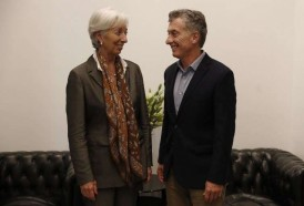 Portal 180 - Lagarde felicitó a Macri por sus reformas económicas