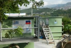 Portal 180 - Haití: negocio impide que funcionen potabilizadoras uruguayas