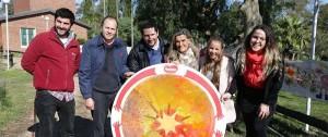 """Portal 180 - """"Huggies abraza Uruguay"""" llevó el arte a los jardines de todo el país"""