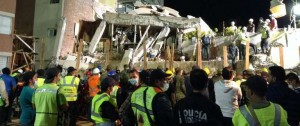 Portal 180 - Rescates a contrarreloj tras potente terremoto en México