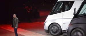 Portal 180 - Tesla presentó un camión totalmente eléctrico