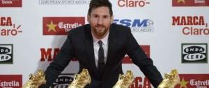 Portal 180 - Messi recibe su cuarta Bota de Oro y cree que ha seguido creciendo