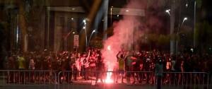 Portal 180 - Hinchas del Flamengo atacaron el hotel del Independiente en Rio