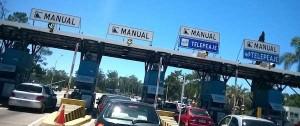 "Portal 180 - Doble tarifa para vehículos inhabilitados que pasen por sendas de ""solo telepeaje"" desde el sábado"