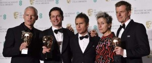 "Portal 180 - ""Three Billboards Outside Ebbing, Missouri"" ganó cinco Bafta"