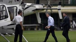 Aterrizaje de emergencia de helicóptero con Macri a bordo | 180