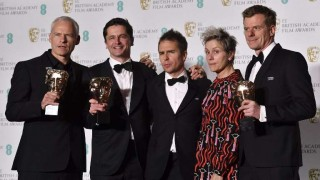 """Three Billboards Outside Ebbing, Missouri"" ganó cinco Bafta 
